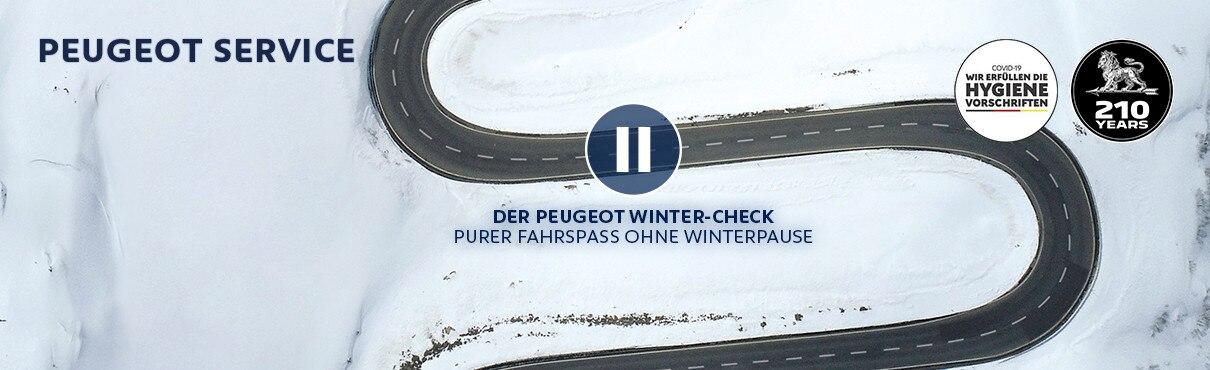 PEUGEOT Winter-Check – Machen Sie Ihren PEUGEOT fit