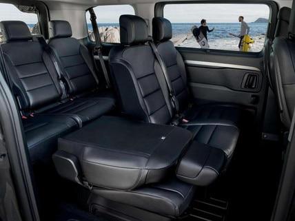 PEUGEOT Traveller – Idealer Reise-Van – Innenraum – Sitze umklappbar