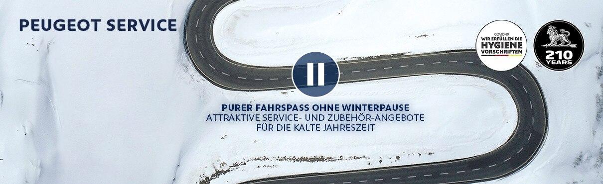Attraktive PEUGEOT Service- und Zubehoer-Angebote fuer die kalte Jahreszeit
