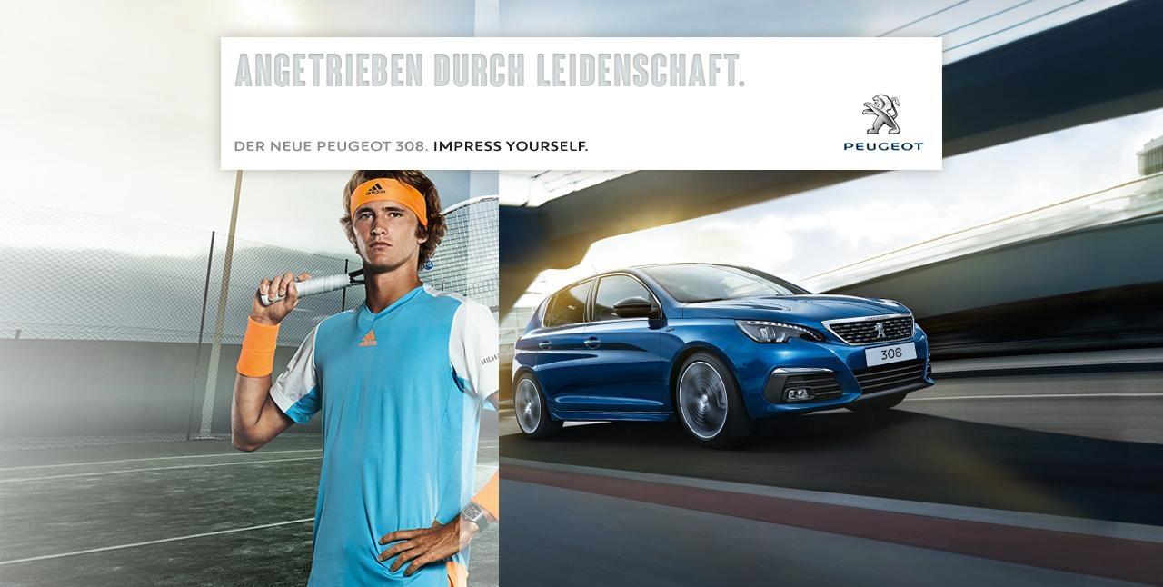 Der neue Kompaktwagen PEUGEOT 308 2017