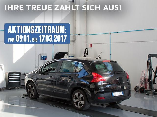 Peugeot erhält Serviceleistung