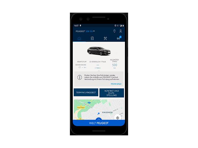 MyPEUGEOT-App – 508-SW