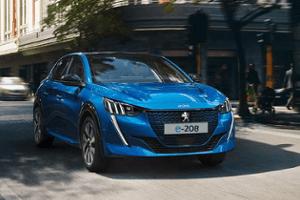 Neuer PEUGEOT e-208 - ideales Elektroauto