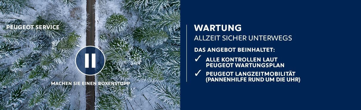 PEUGEOT Service – Wartung