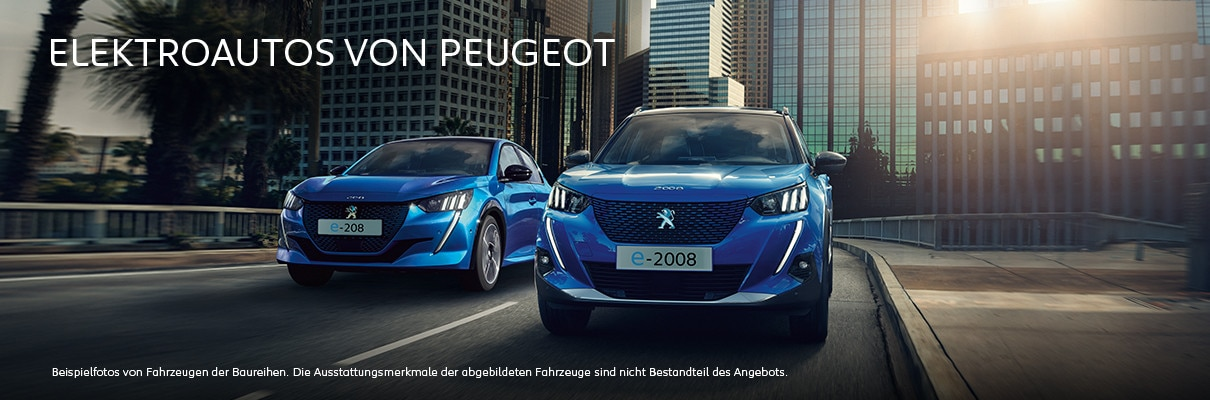 Elektroautos von PEUGEOT – Jetzt entdecken