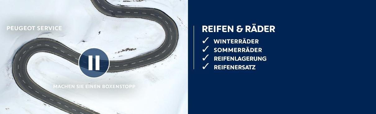PEUGEOT Service – Reifen und Raeder
