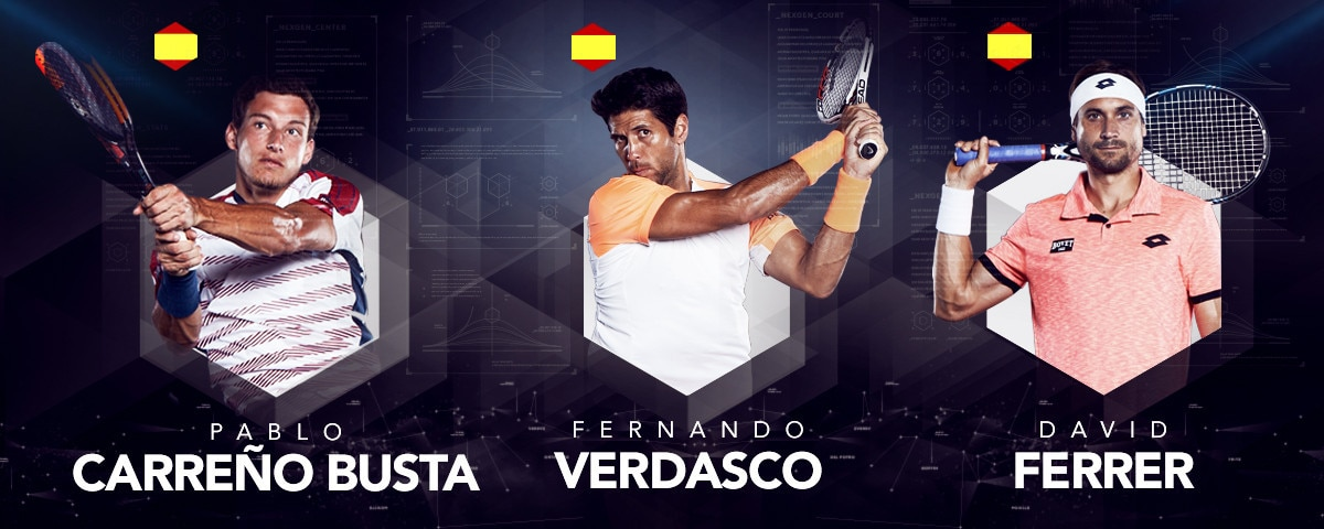 PEUGEOT-Drive-to-Tennis-Markenbotschafter-Carreno-Busta-Verdasco-Ferrer