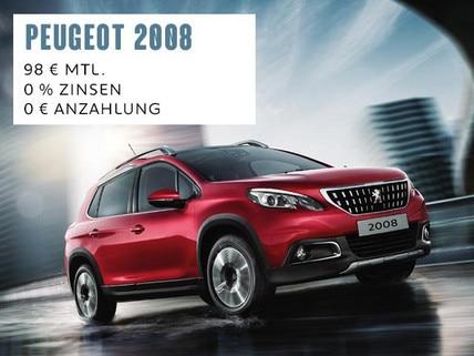 PEUGEOT 2008 Mini SUV Angebot