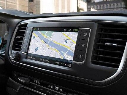 PEUGEOT e-Traveller – Charge My Car – Routenplan mit Ladestationen