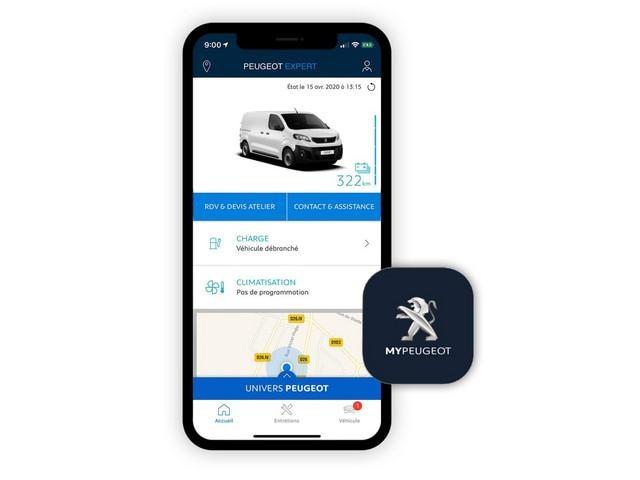 PEUGEOT e-Traveller – MyPEUGEOT App