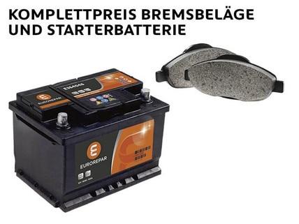 Wintercheck Bremsbeläge und Starterbatterie