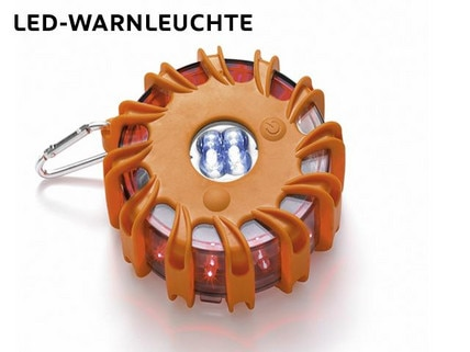 Wintercheck Warnleuchte