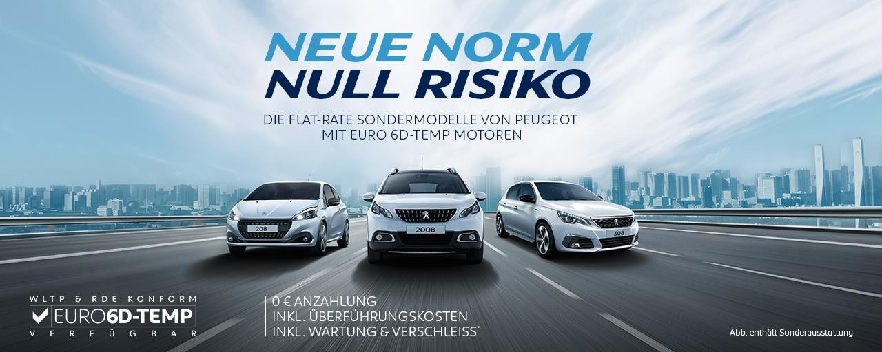 Neue-Norm-Null-Risiko-Flat-Rate-Sondermodelle-von-PEUGEOT-mit-Euro-6d-TEMP