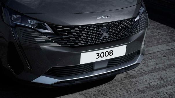 Neuer SUV PEUGEOT 3008 Frontansicht