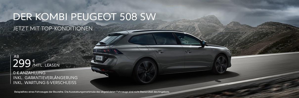 Kombi PEUGEOT 508 SW – Leasing-Angebot entdecken