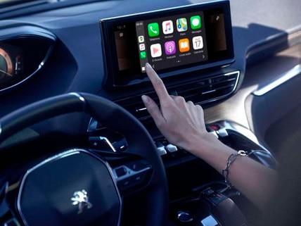 Neuer SUV PEUGEOT 3008 Mirror Screen Funktion