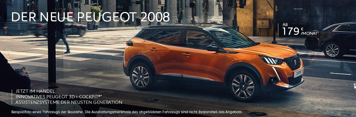 Neuer PEUGEOT 2008 – Neuwagen Angebot entdecken