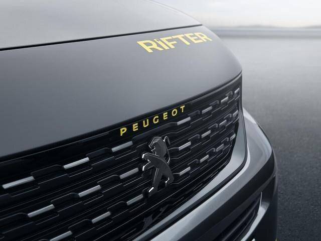 PEUGEOT-Rifter-4x4-Concept-gelber-Rifter-Schriftzug