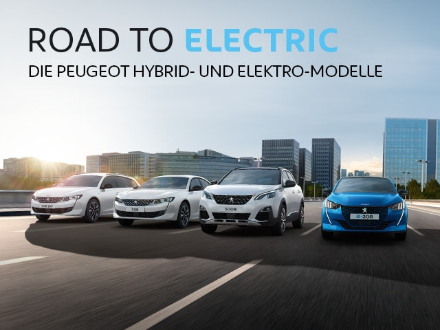 PEUGEOT Road to Electric Tour