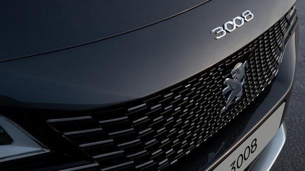 Neuer SUV PEUGEOT 3008 – Aussendesign – Neuer-Kuehlergrill