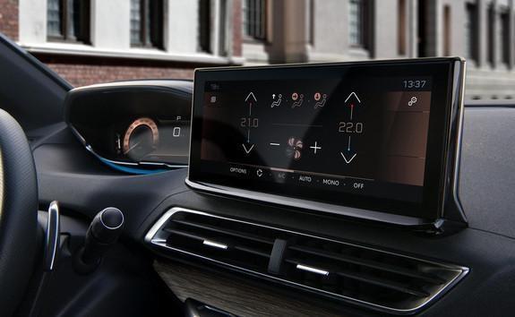 Neuer SUV PEUGEOT 3008 – Innendesign – Touchscreen