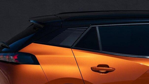 Der neue City-SUV PEUGEOT 2008 – seitlich
