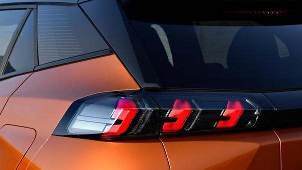 Der neue City-SUV PEUGEOT 2008 Rueckleuchten