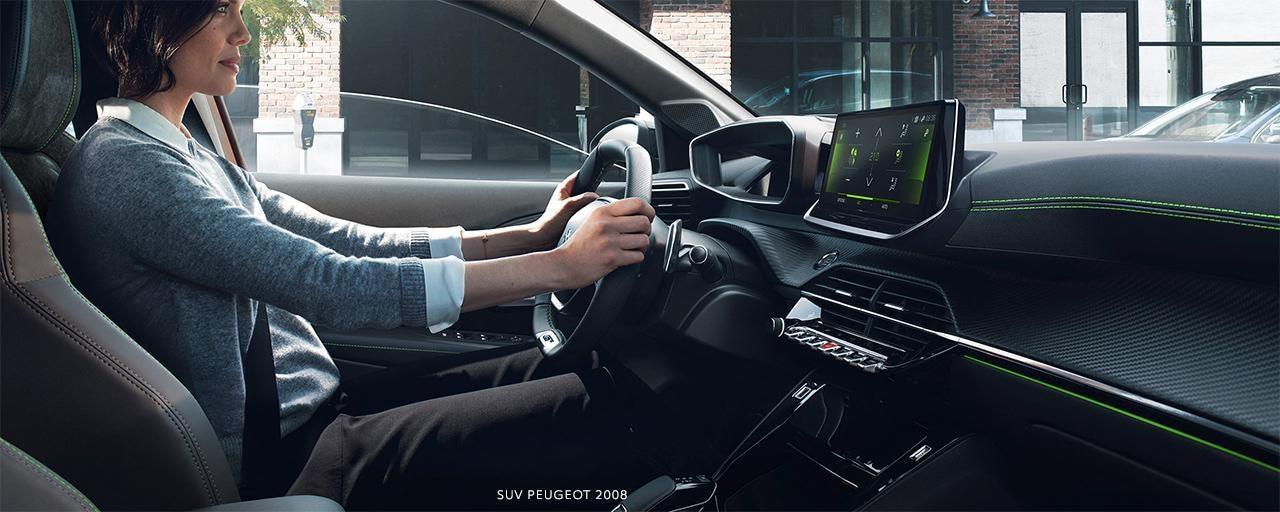 Der neue City-SUV PEUGEOT 2008 – i-Cockpit®