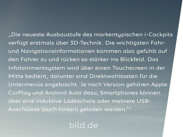 Neuer PEUGEOT 208 – Innendesign - Digitale Anzeigen - PEUGEOT i-Cockpit®