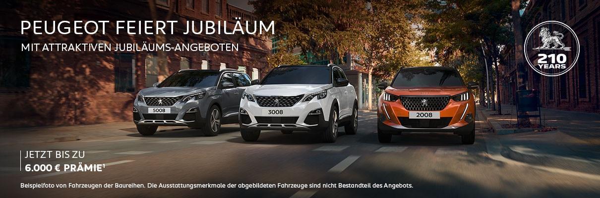 PEUGEOT SUV mit Jubilaeums-Praemie – Angebote entdecken