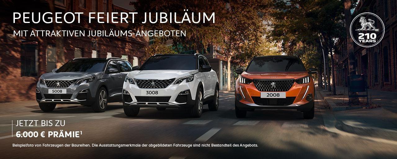 PEUGEOT SUV mit Jubilaeums-Praemie – Jetzt entdecken