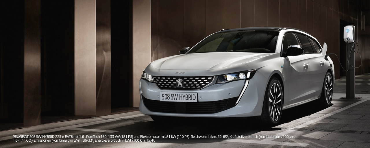Neuer PEUGEOT 508 SW HYBRID – Kombi mit Plug-In Hybridmotor – Jetzt entdecken