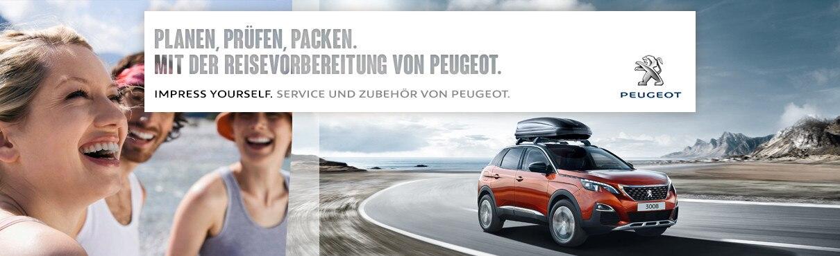 PEUGEOT Service Urlaubscheck