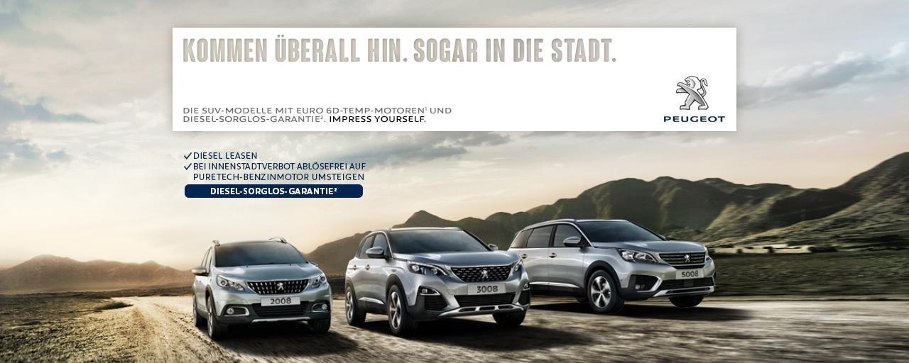 PEUGEOT-Diesel-Sorglos-Garantie-SUV-Modelle