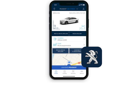 PEUGEOT Plug-In Hybride – MyPEUGEOT App