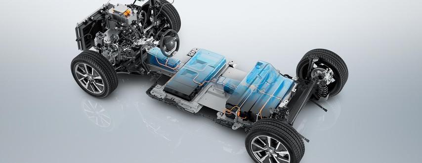 DER NEUE PEUGEOT e-208 – Elektro-Fahrgestell