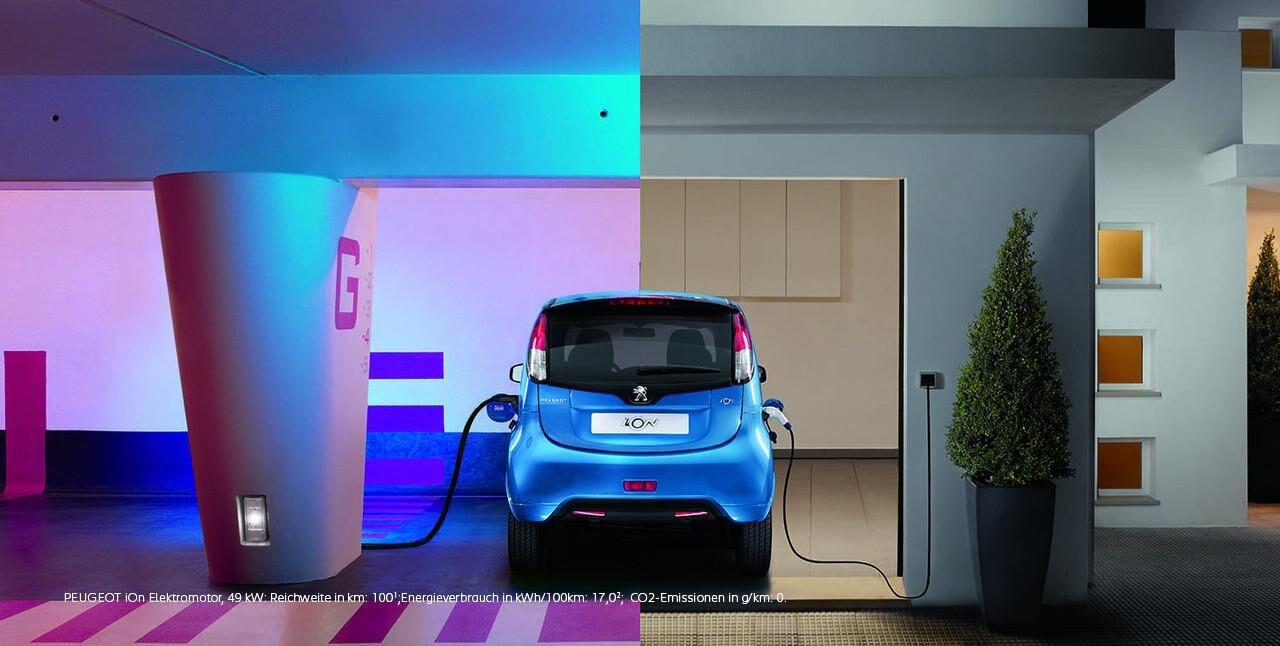 PEUGEOT iOn umwelteffizientes Elektroauto – ideal fuer die Stadt