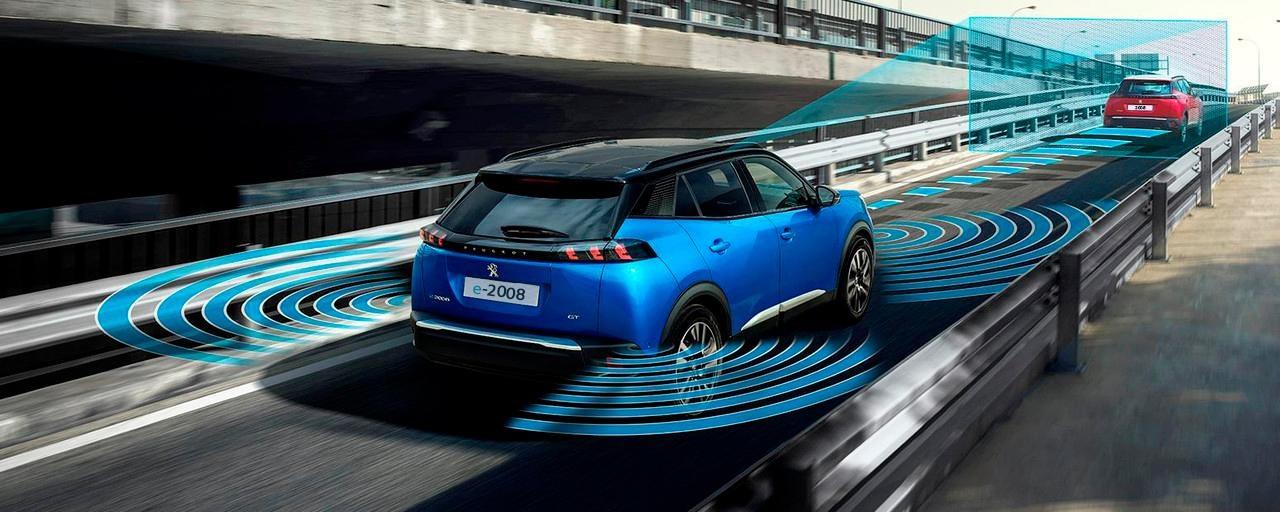 Der neue City-SUV PEUGEOT 2008 – technologische Ausstattung