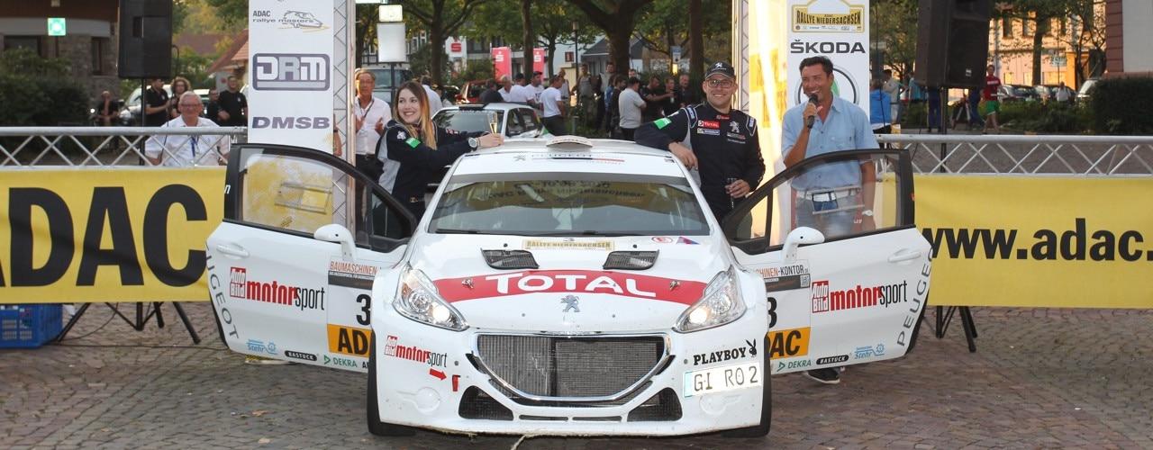Team PEUGEOT ROMO Rallye Niedersachsen
