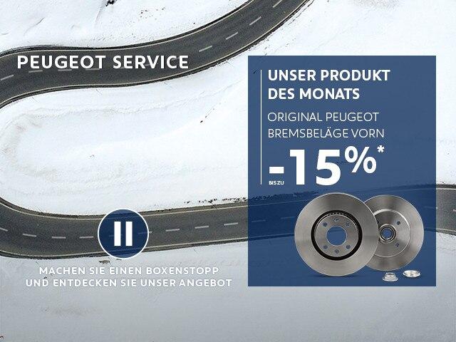 PEUGEOT Produkt des Monats Bremsscheiben und Bremsbelaege
