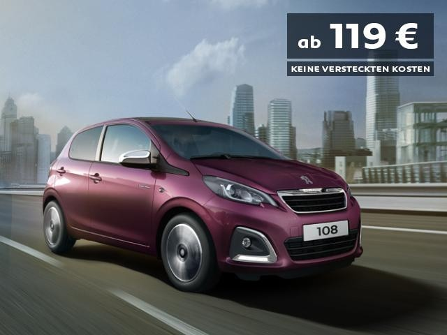 PEUGEOT-108-Flat-Rate-Angebot