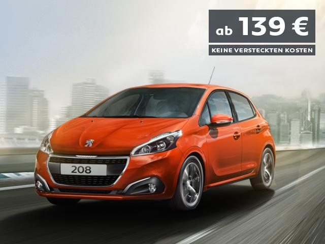PEUGEOT-208-Flat-Rate-Angebot