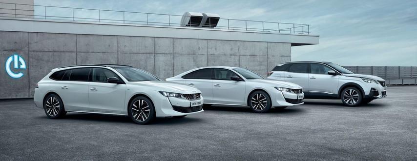 PEUGEOT-Hybridfahrzeuge
