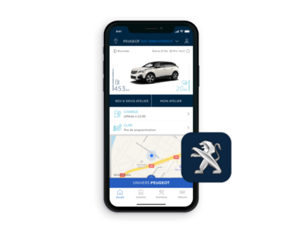 PEUGEOT 3008 HYBRID4 – MyPEUGEOT App