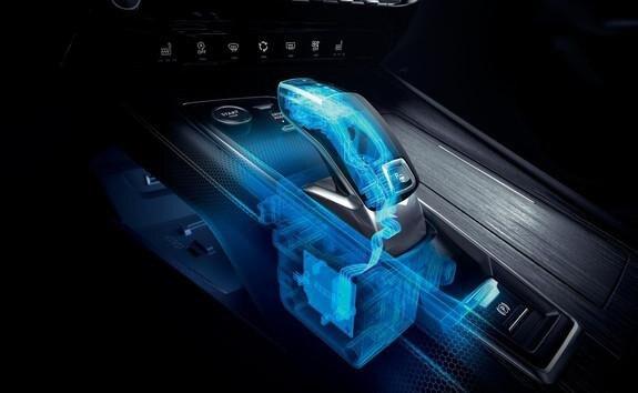 Der neue Kombi PEUGEOT 508 SW, Automatikgetriebe EAT8 mit elektrischer Gangschaltungssteuerung Shift and Park by Wire