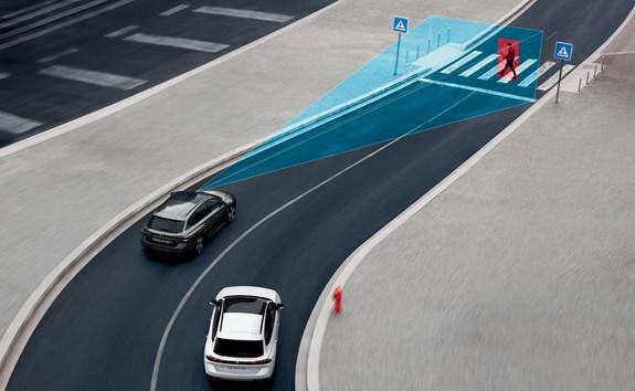 Der neue Kombi PEUGEOT 508 SW, Notbremsassistant Active Safety Brake mit Kollisionswarner Distance Alert