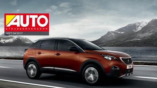 Peugeot 3008 - Sieg im SUV-Vergleichstest