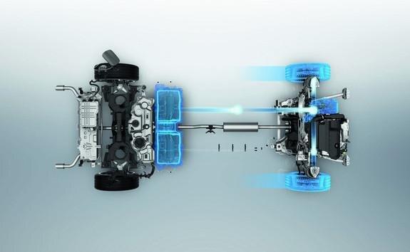 Neue Limousine PEUGEOT 508 HYBRID, Lithium-Ionen-Batterie im Modus mit 100 % Elektroantrieb