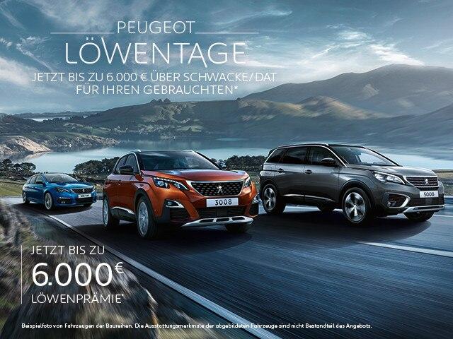 PEUGEOT Neuwagen Angebot – Jetzt entdecken