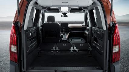 Der neue PEUGEOT RIFTER – 3 umklappbare Einzelsitze hinten mit Magic-Flat